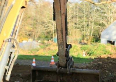 terrassement raccordement reseau fibre optique electricite quimper 37 - Terrassement